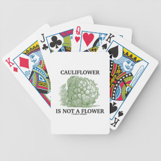Cauliflower Is Not A Flower (Food For Thought) Card Decks