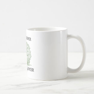 Cauliflower Is Not A Flower (Food For Thought) Coffee Mugs
