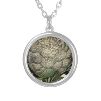 Cauliflower Silver Plated Necklace