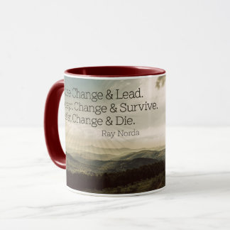 Cause Change And Lead Mug