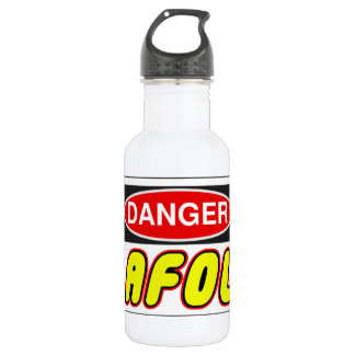 CAUTION AFOL by Customise My Minifig 532 Ml Water Bottle