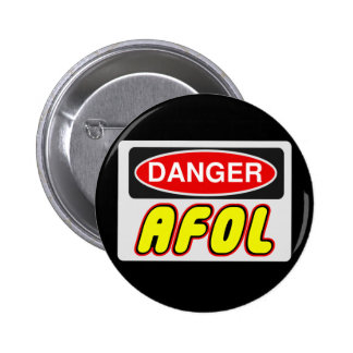 CAUTION AFOL by Customize My Minifig Button