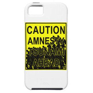 Caution Amnesty Tsunami Ahead iPhone 5 Cover