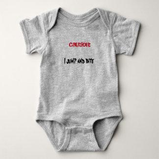 CAUTION Baby Jersey Bodysuit