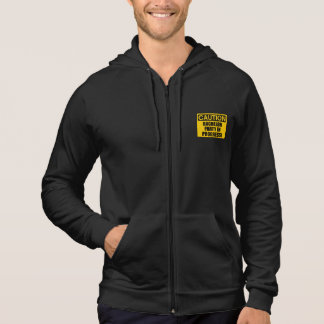 Caution Bachelor Party Progress Hoodie