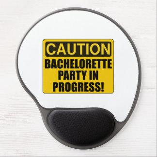 Caution Bachelorette Party Progress Gel Mouse Pad