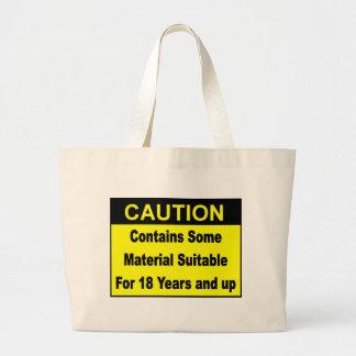 caution bags
