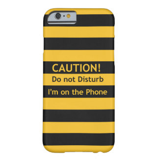 Caution ! barely there iPhone 6 case