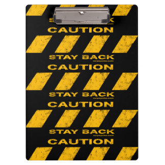 Caution Clipboard