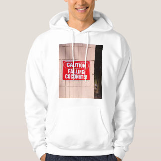 Caution - Falling Coconuts! Hoodie