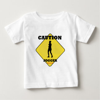 Caution_Female_Jogger Tees