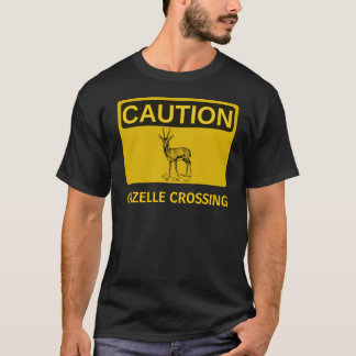 Caution: Gazelle Crossing T-Shirt