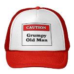 Caution Grumpy Old Man Hat