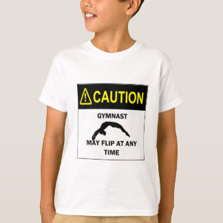 Caution Gymnast T-Shirt