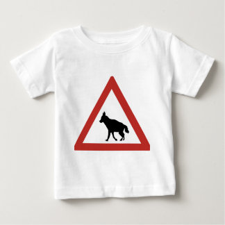 Caution Hyenas 1, Traffic Warning Sign, Namibia Baby T-Shirt