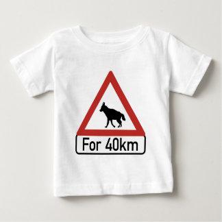 Caution Hyenas 2, Traffic Warning Sign, Namibia Baby T-Shirt
