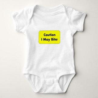 Caution I May Bite! Onsie Baby Bodysuit