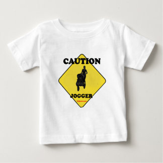 Caution_Jogge_Mother_Child Tee Shirts