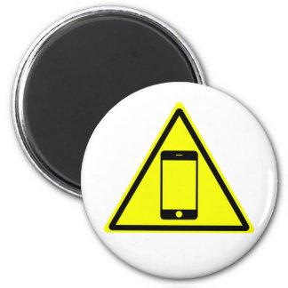 Caution Magnet