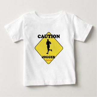 Caution Male Jogger Infant T-Shirt