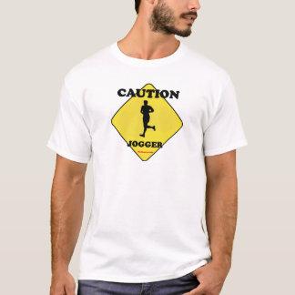 Caution_Male_Jogger T-Shirt