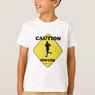 Caution Male Jogger Tees