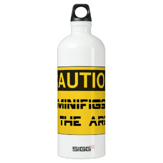 CAUTION MINIFIGS IN THE AREA by Chillee Wilson SIGG Traveller 1.0L Water Bottle