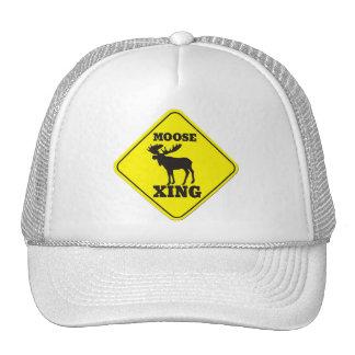 Caution- Moose Crossing Hat