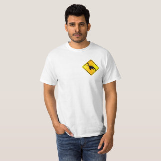 Caution Nessie Area T-Shirt