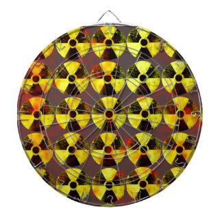 caution, nuclear energy dartboards