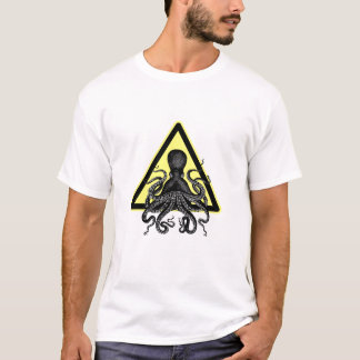 Caution! Octopus / Cthulu ahead T-Shirt