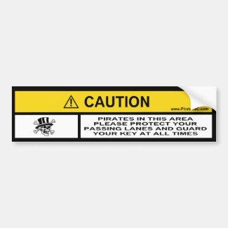 Caution! Pirates in this area