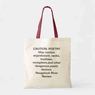 CAUTION: POETRY bag