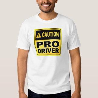 Caution Pro Driver Shirts