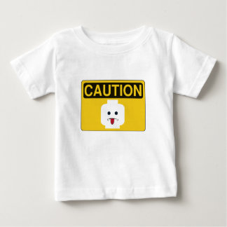 CAUTION: RUDE MINIFIG HEAD by Customize My Minifig Tee Shirts