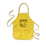 CAUTION - Scientist at Work Apron Personalised