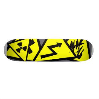 Caution Signs Skateboard Decks