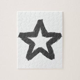 Caution star ahead! jigsaw puzzle