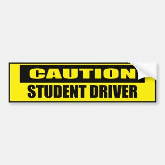 Caution Student Driver Bumper Sticker Car Bumper Sticker