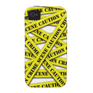 Caution Tape Cover Case-Mate iPhone 4 Covers