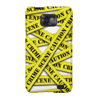 Caution Tape Cover Samsung Galaxy SII Case