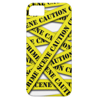 Caution Tape Cover iPhone 5 Cover