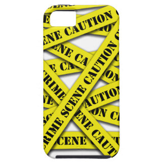 Caution Tape Cover Case For The iPhone 5