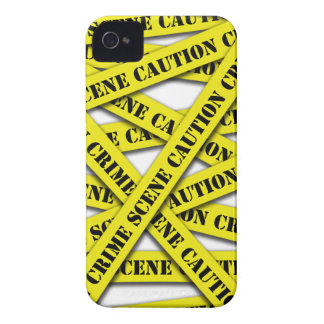 Caution Tape Cover Case-Mate iPhone 4 Cases