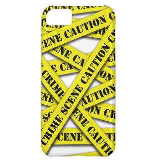 Caution Tape Cover iPhone 5C Case