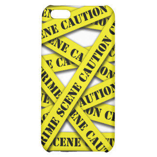 Caution Tape Cover iPhone 5C Cover