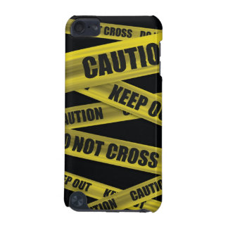 Caution Tape iPod Case iPod Touch 5G Covers