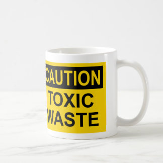 Caution Toxic Waste Coffee Mug