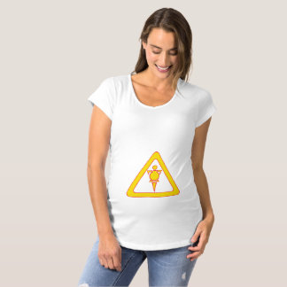 Caution: Wide Load Maternity T-Shirt