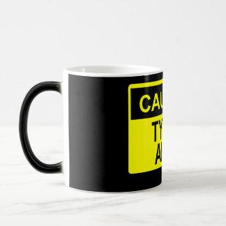 Cautoin: Typos Ahed Coffee Mug